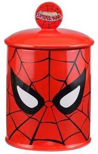 Spider Man Ceramic Cookie Jar
