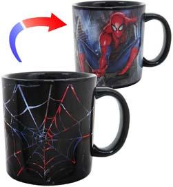 Spider Man Heat Changing Mug