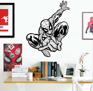 Spider Man Metal Wall Art