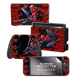 Spider Man Nintendo Switch Skin
