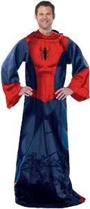 Spiderman Blanket With Sleeves