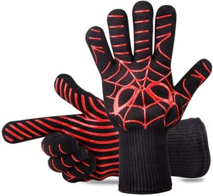 Spiderman Heat Resistant Oven Mits