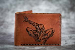 Spiderman Leather Wallet