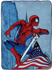 Spiderman Sherpa Blanket