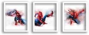 Spiderman Watercolor Prints
