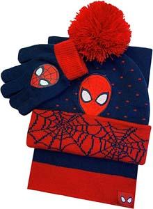 Spiderman Winter Hat Glove & Scarf Set