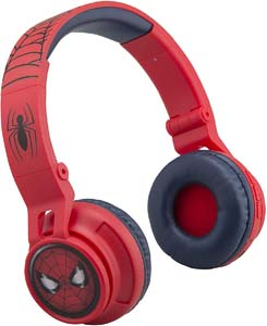Spiderman Wireless Kids Headphones With Microphone