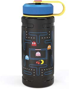 Stainless Steel Insulated Pac Man Water Bottle