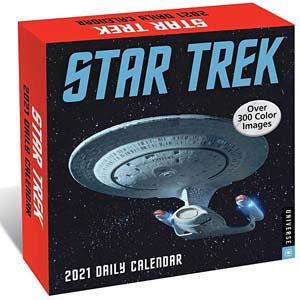 Star Trek Daily 2021 Day To Day Calendar