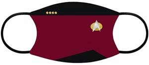 Star Trek Face Mask For Social Distancing