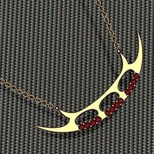 Star Trek Inspired Sword Necklace Bat'leth Be Careful Its Sharp