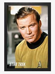 Star Trek Kirk Close Up Poster