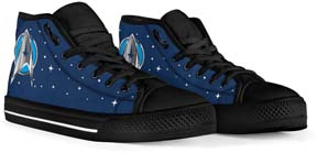 Star Trek Men's High Top Shoes