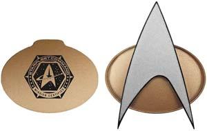 Star Trek Next Generation Bluetooth Communicator Badge