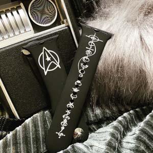 Star Trek Vulcan Calligraphy Live Long And Prosper Apple Watch Band
