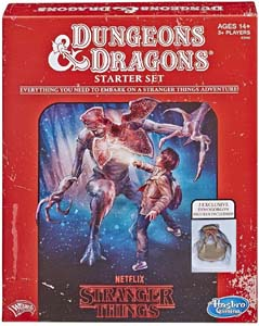 Stranger Things Dungeons And Dragons Roleplaying Game Starter Set