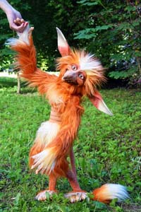 Super Awesome Firey Faux Fur Toy