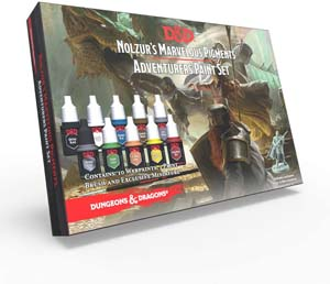 The Army Painter Dungeons And Dragons Official Paint Line Adventurers Paint Set
