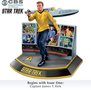 The Legends Of Star Trek Character Sculpture Collection