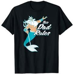 The Little Mermaid King Triton Dad Men's T Shirt