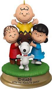 The Peanuts Gang 70th Anniversary Xmas Ornament 2020