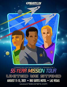 Tickets To The 55 Year Mission Tour Star Trek Convention