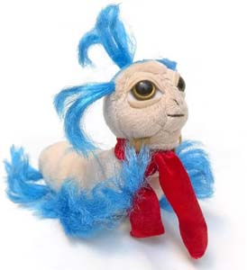 Toy Vault Jim Henson's Labyrinth The Worm 7.5 Collectible Plush 1