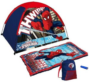 Ultimate Spider Man Camping Kit