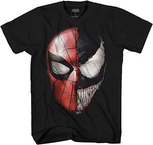 Venom Spidey Faces T Shirt