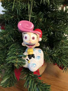 Vintage Wanda Christmas Ornament