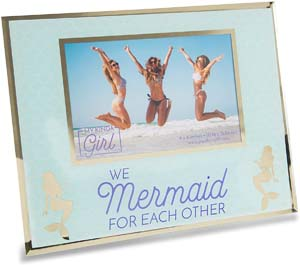We Mermaid For Each Other Picture Frame