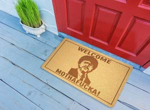 Welcome Mothafucka Doormat Pulp Fiction