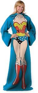 Wonder Woman Blanket With Sleeves