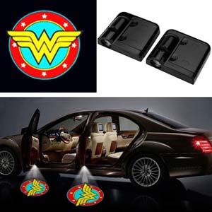 Wonder Woman Car Door Lights