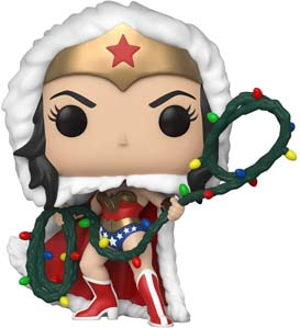 Wonder Woman Funko – Christmas Version