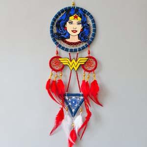 Wonder Woman Gift Dc Superhero Dream Catcher