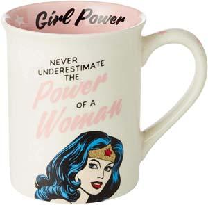 Wonder Woman Girl Power Mug
