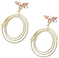 Wonder Woman Lasso Earrings