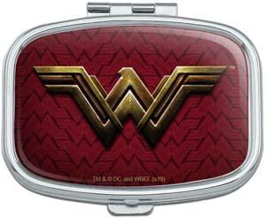 Wonder Woman Logo Rectangle Pill Case
