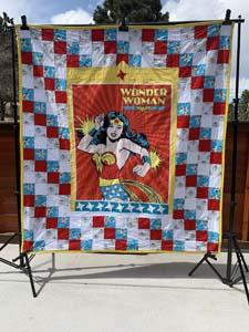 Wonder Woman Quilt