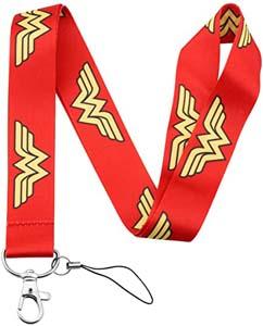Wonder Woman Red Lanyard
