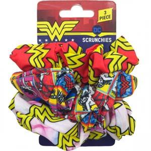 Wonder Woman Scrunchie Set