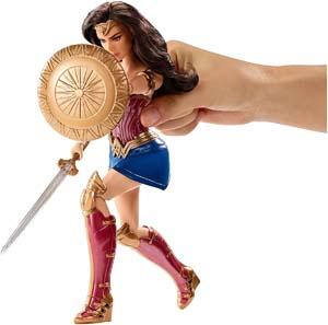 Wonder Woman Shield Block Warrior Doll