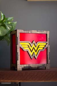 Wonder Woman Table Lamp