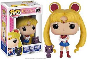 Sailor Moon With Luna Funko Pop