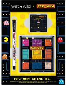 Wet N Wild X Pac Man Shine Kit For The Gamer Girl