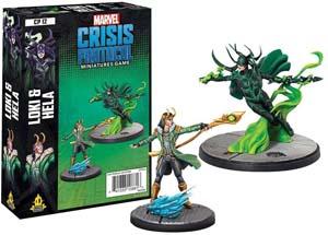 Atomic Mass Marvel Crisis Protocol Loki And Hela