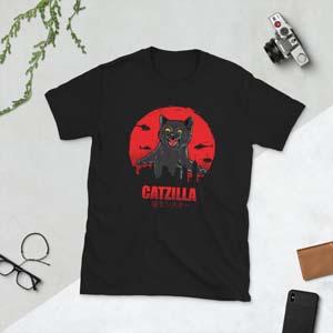 Catzilla T Shirt