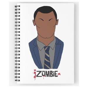 Clive Izombie Spiral Notebook