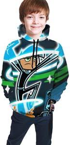 Danny Phantom 3d Pullover Hoodie